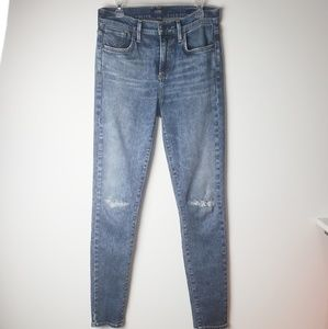 AGOLDE Sophie High Rise Skinny  Jean's Size 26